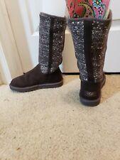 980d21bbfe3 UGG Australia Sequined Gray Boots for Women for sale | eBay