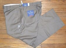 Croft & Barrow True Comfort Dress Pant Flat Front Classic Fit Size 42 by 30