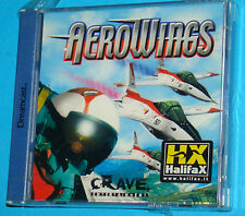 AeroWings - Sega Dreamcast DC - PAL New Nuovo Sealed