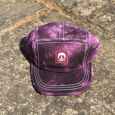Gnarly Purple Tiedye Cap Ski/Skate/Surf/Casual
