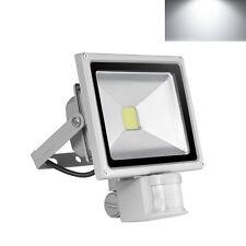 20W Weiß LED Außen Strahler mit PIR Bewegungsmelder Fluter Flutlicht Lampe IP65