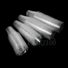 100pcs Clear Plastic Disposable Drink Cups Bulk For Home Wedding Christmas Party