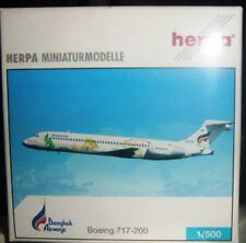 BOEING 717-200 BANGKOK AIRWAYS scala 1/500 HERPA (513951)