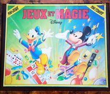 Vintage JEUX ET MAGIE Disney 100 Jeux Et 100 Tours Par Ferriot Cric