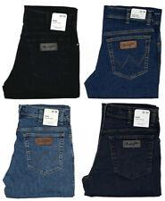 Wrangler Jeans Texas Stretch Hose 1.Wahl Ware Blau Schwarz Dunkelblau Blue-Black
