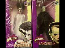 1998 Frankenstein & The Bride Doll Kenner Hasbro Universal Studios Monsters