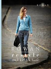 Rowan ::Rowan Restyle No. 1 Kidsilk Haze:: book 10 patterns New