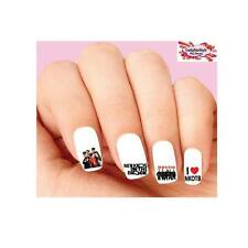 Waterslide Nail Decals Set of 20 - NKOTB New Kids On The Black Assorted