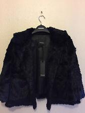 PINKO imitación piel chaqueta talla 6-8 (s) Nuevo PVP £ 312