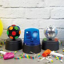 Pack of 3 Mini Party Lights Set Mirror Disco Ball Fuzz Lights Christmas Birthday