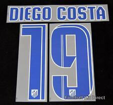 Atlético Madrid Diego Costa 19 2013/14 Camiseta De Fútbol Nombre/Número De Casa