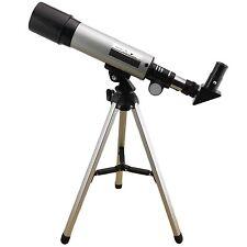 SKY telescopio monoculare 18x - 90x Bambini Educativo ASTRONOMIA Treppiede CARRYBOX