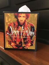 JIMMY HENDRIX WOOD TISSUE BOX COVER
