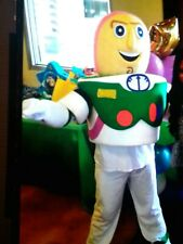 Professional Mascot costume adult used Buzz Lightyear look alike