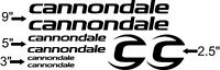 Custom Cannondale Bike Frame Decal Set. Pick Your Color. USA Seller!