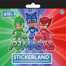 120 PJ Masks Pajama Hereos Stickers, Party/Loot/Stocking Fillers, 6 sheets