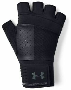 Under Armour Men's Weightlifting Gloves Fitness Training Gloves Gym 1328621