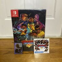 Limited Run Streets of Rage 4 Nintendo Switch Collector's Edition IN HAND GAME