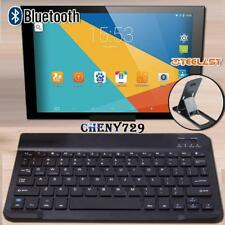 "For 9"" to 12"" Teclast Tablet Slim Wireless Bluetooth Keyboard + Stand Holder"