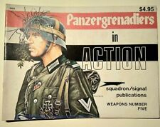 Squadron/Signal Publications Weapons N°5 Panzergrenadiers in Action 50 S.