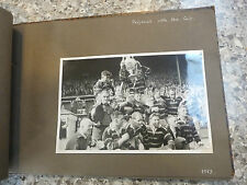 HUDDERSFIELD RFL RUGBY FOOTBALL LEAGUE REMARKABLE ALBUM OF 1953  PHOTOGRAPHS