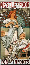 Repro Art NouveauPrint  'Nestles Food ....' by Alphonse Mucha