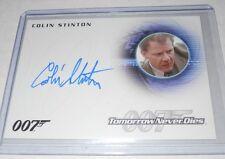 James Bond 007 Autograph Trading Card Colin Stinton As Dr.Greenwalt #A239