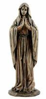 Lady Mother Mary Preghiera (Freddo Scultura Bronzo Statua 30cm/30cm)