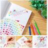Colorful Star Love Shape Stickers For School Children Teacher Reward DIY
