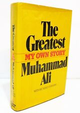 THE GREATEST My Own Story by MUHAMMAD ALI HCDJ - FIRST ED / FIRST PRINT - SIGNED