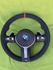 BMW F30 F31 F33 F36 F20 F21 F22 M Sport Alcantara Steering Wheel Paddle shift