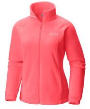 NEW Columbia Women's Benton Springs Full-Zip Fleece Jacket Size Small