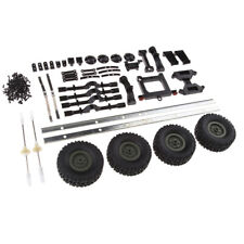 RC Car Trailer Chassis Assembly Kits for WPL 1/16 6WD  Truck Spare Parts