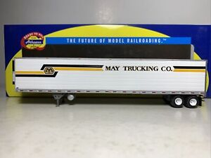 Athearn   53' Trailer   May Trucking  #5058    HO Scale