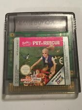 Nintendo Gameboy Color GBC Juego CARTUCHO solo Barbie Mascota De Rescate