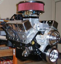 CHEVY 400 / 520 HORSEPOWER COMPLETE CRATE ENGINE / PRO-BUILT / NEW 327 350 383