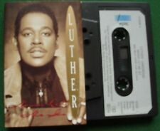 Luther Vandross Never Let Me Go Cassette Tape - TESTED