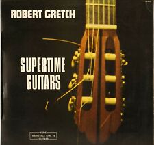 "ROBERT GRETCH ""SUPERTIME GUITARS"" 70'S LP LIBRARY AMY 33003"