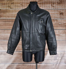 Timberland Leather Men Jacket Coat Size S, Genuine