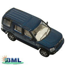 LAND ROVER DIE CAST 1:76 SCALE MODEL DISCOVERY 3 CAIRNS BLUE. DA1624