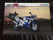 1993 Suzuki GSX-R750 GSXR 750W 6 Page Original Motorcycle Dealer Brochure