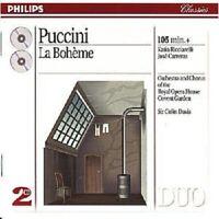 "SIR COLIN DAVIS ""PUCCINI: LA BOHEME (GA)"" 2 CD NEU"