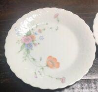 """MIKASA """" Something Blue"""" 6 3/4"""" Diameter Bread  Plates A7051 -2 Plates"""