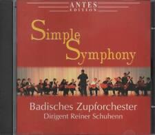 Simple Symphony Badisches Zupforchester Dirigent Reiner Schuhenn CD NEU