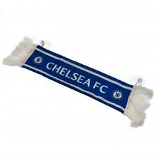 3a0d01b5c589f Chelsea FC Official Crested Mini Scarf Car Hang Up With Rubber Suction Pads  Gift