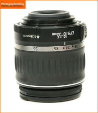Canon EF-S 18-55mm F3.5-5.6 II Manual Zoom Lens for EOS DSLRs - + Free UK Post