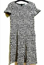 Max&Co Black And White Dress