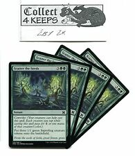 Magic MTG Modern Masters 2015: 4x Scatter the Seeds x4 Green Playset Unplayed