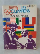 Montreal 1976 Olympic Games mini magazine. les Olympiens.  l'Evolution des Jeux