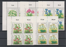 Bund 1991 Viererblock Eckrand Mi.Nr.1505-1509 Postfrisch ** Einwandfrei